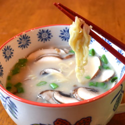 Miso Soup with Lotus Foods Rice Ramen
