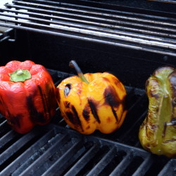 Grilled Peppers - Done!