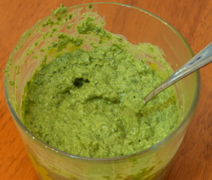 Dairy-free Raw Pesto