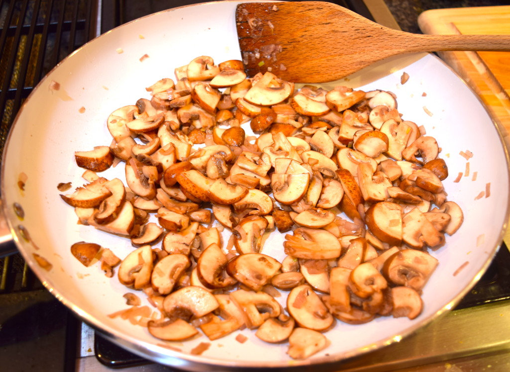Shallot and Mushrooms